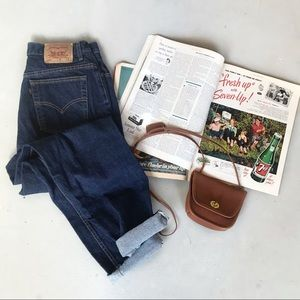 VTG Levi's 550 High Waisted Relaxed Fit Jeans